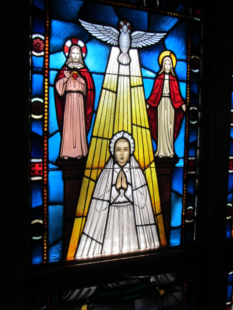Mother Cabrini Stained Glass