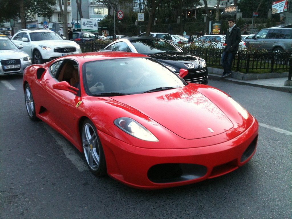 Red Ferrari F430 Caught It Cruising In Bebek Istanbul William Flickr
