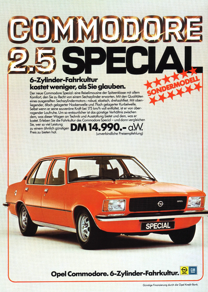 Opel Commodore B (1976) Special | Opel Commodore 2.5 Spezial… | Flickr