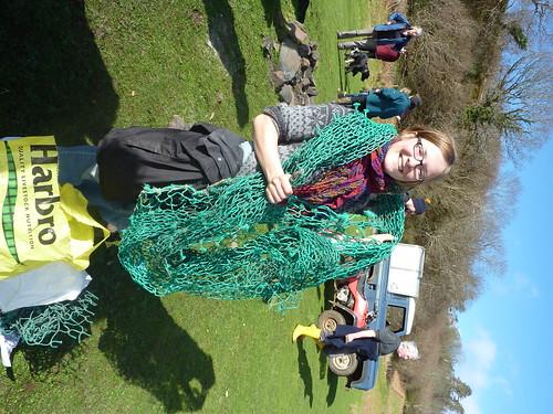 Not a net, a windbreak for the garden   by isleofeigg