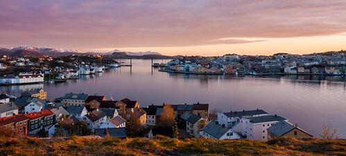 sunset norway norge kristiansund