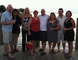 Extended Family and Friends: Enjoying Waterfront Dinner with Friends   by sfusswork