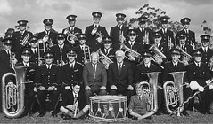 Gawler Town Band 1962.  Jim Hadden Snr. back row 3rd from left. His son, Jim  is second from right on back row.
