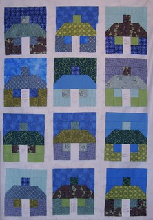 12 cottages ready for a quilt