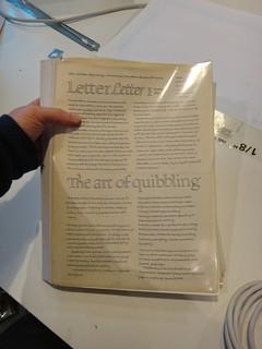 LetterLetter #1