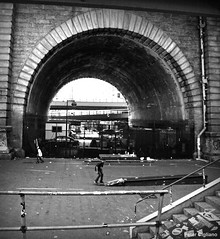 Brooklyn Bridge Skaters
