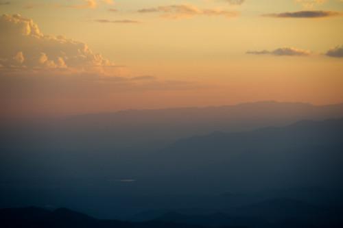 sunset sky cloud mountain nature thailand nikon dusk chiangmai d3 totallythailand