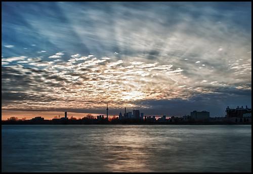 longexposure sunset toronto bay long exposure downtown cityscape sundown hdr ashbridges nd1000 nd110