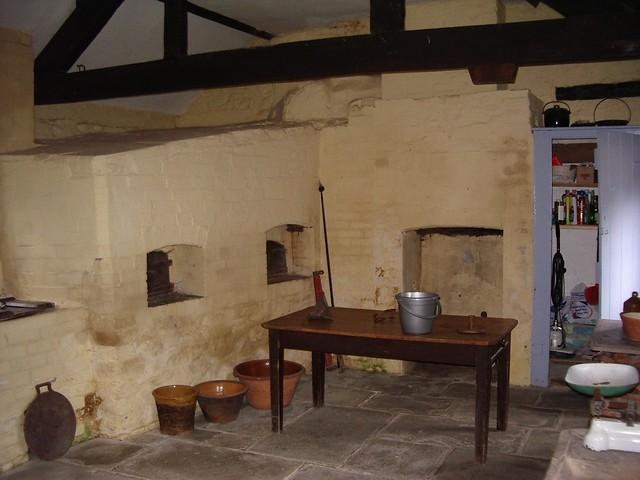 Kitchen Cwmmau farmhouse