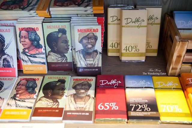 Duffy's and Menako chocolate bars