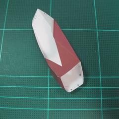 วิธีทำโมเดลกระดาษตุ้กตาคุกกี้รัน คุกกี้รสฮีโร่ (LINE Cookie Run Hero Cookie Papercraft Model) 010