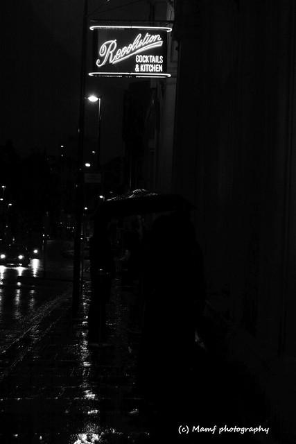 Revolution in the rain,