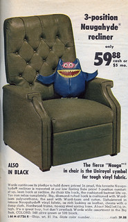 1970 Montgomery Ward Catalog Page with Nauga Monster