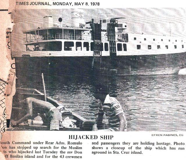 1978 0508 Hijacked Ship