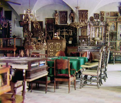 Prokudin-Gorskii Trichrome Composite Interior Room