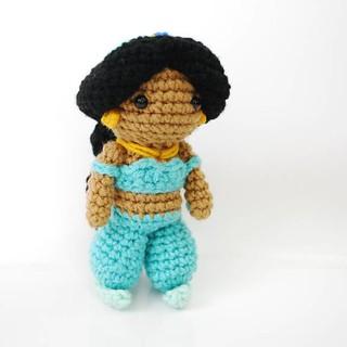 Disney Princess Doll Crochet Pattern — Jasmine | These Crocheted ... | 320x320