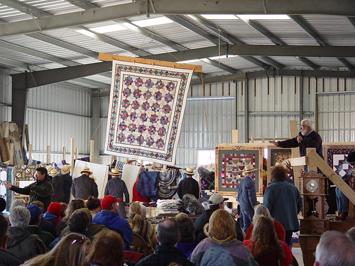 Amish Quilt Auction