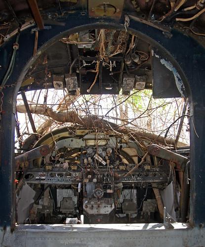 abandoned pine airport aircraft twin cockpit 18 derelict beech flightdeck scrapped stored twinbeech cabinview beechc45 beechexpeditor beechc45g n7615c 5111481