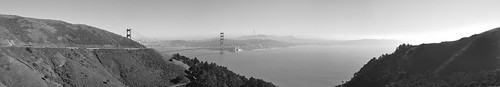 Golden Gate Bridge Panorama by Eric M Martin