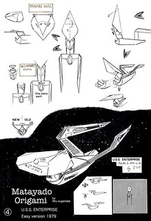 USS.ENTERPRISE origami diagram Easy version 4 | by Matayado-titi