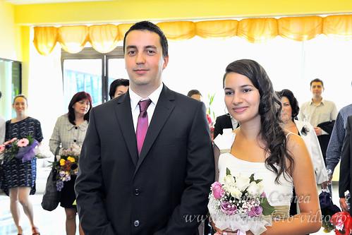 Poze casatorie civila Timisoara - Alina & Victor