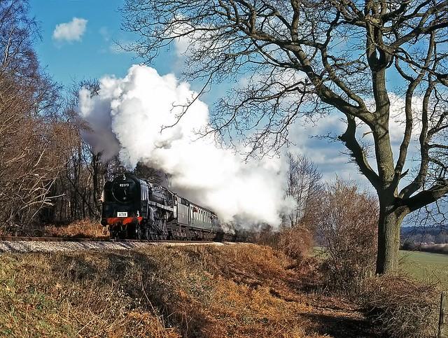92203, Mid Hants Railway, February 1996