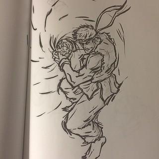 Streetfighter Sf Drawing Sketch Sketching Sketchbook Flickr