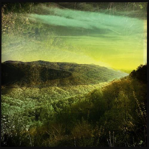 foothills mountains sunrise saluda appalachians ncarolina dcfilm hipstamatic salvador84lens