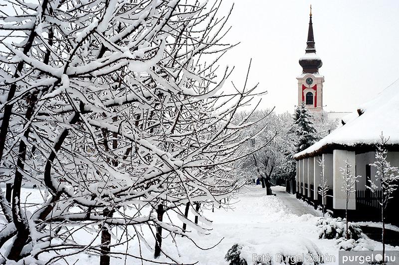 Hunyadi utca télen