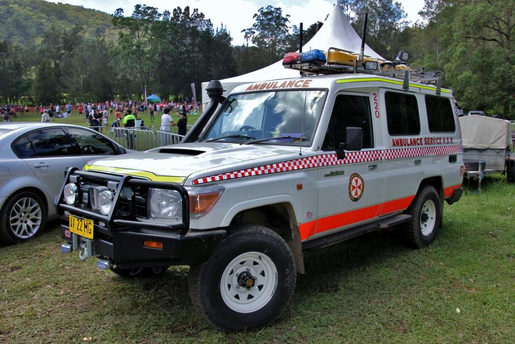 2008 Toyota LandCruiser 78 series Troopcarrier Workmate ambulance