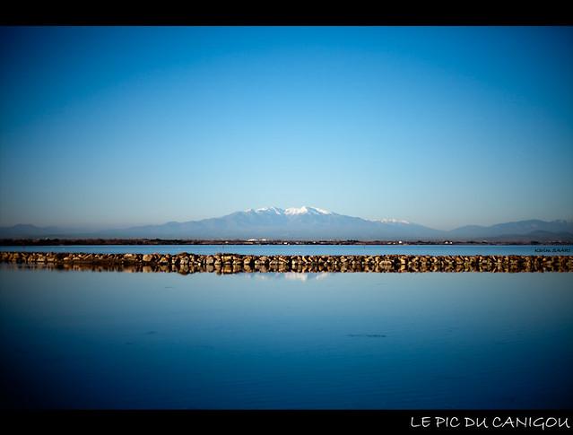 ★ Port Barcarès, le pic du canigou ~ Karim SAARI ©