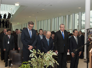 Commemorating the First Anniversary of the Great East Japan Earthquake at the United Nations in Vienna