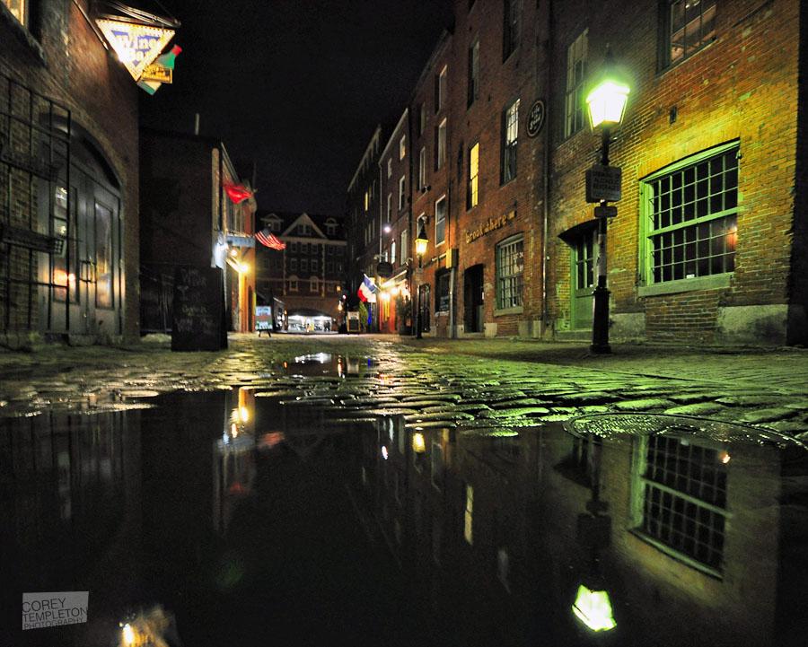 Quiet Wharf Street