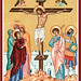 Crucifixion icon from Monastery Icons