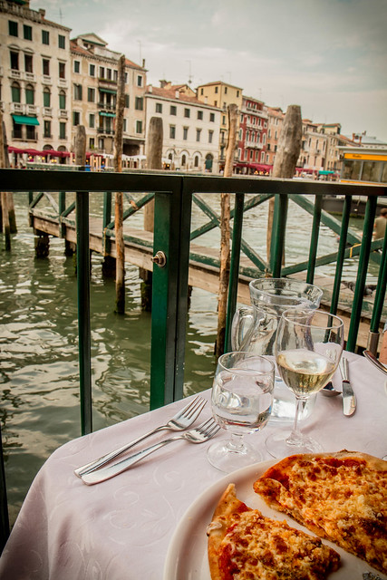 Table with a View of the Grand Canal