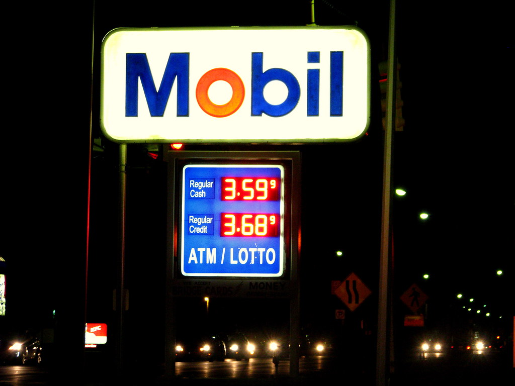 Gas Prices | 11 Mile and Campbell, Royal Oak, 2/22/2012 | Dave Hogg | Flickr