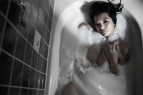 She Swirls It | by TJ Scott