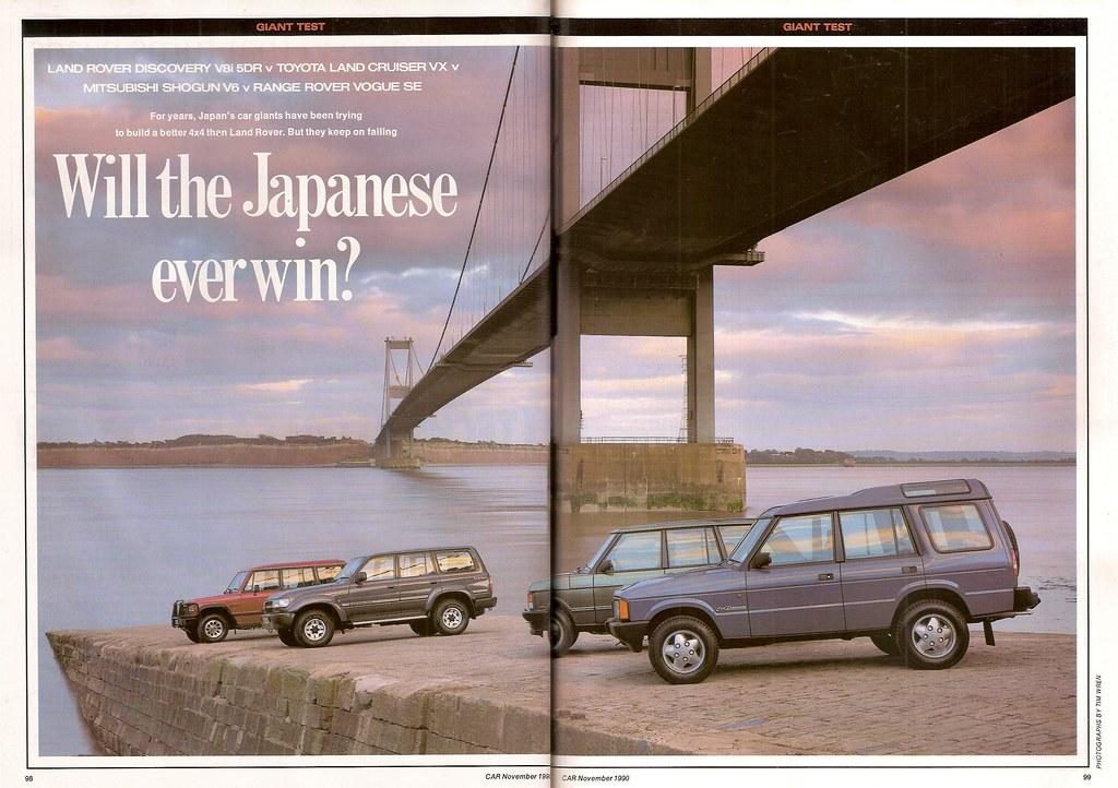 Land Rover Discovery V8i 5Dr - Mitsubishi Shogun V6 LWB