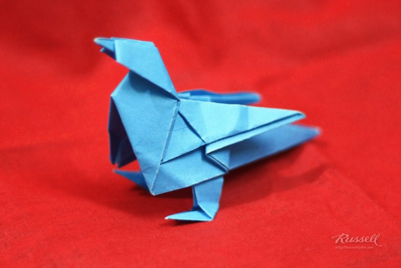 Origami Canary (Twitter Bird)