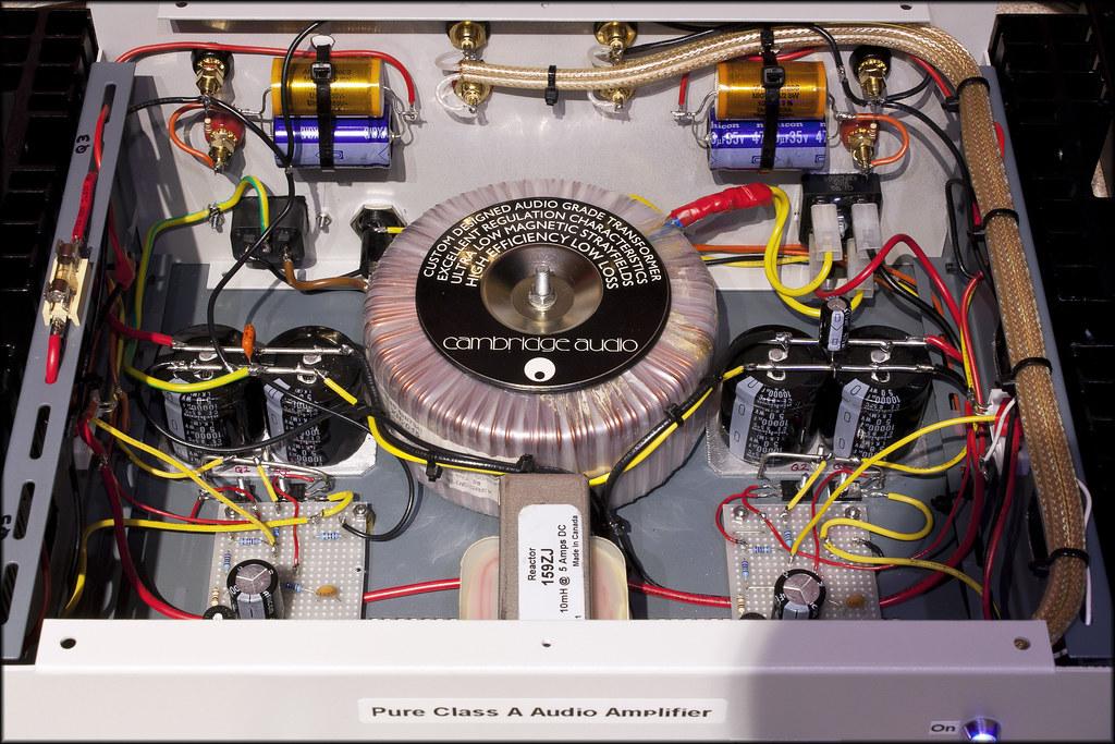 ... Inside the homemade DOZ Class A amplifier | by John Parfrey