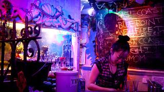 Woman at the Oyster Bar at 169 Bar - Chinatown, NYC | by ChrisGoldNY