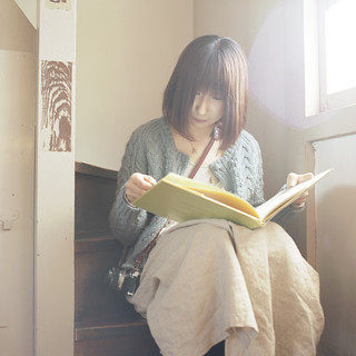 She was reading the old book in the old building. | by toshi*