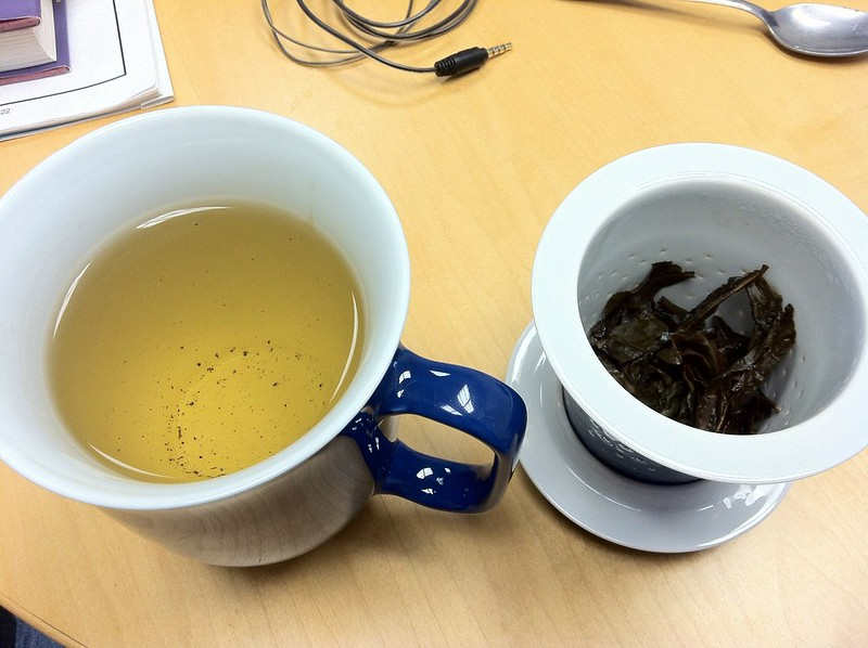 get somewhat emotional when tea leaves unfold like this