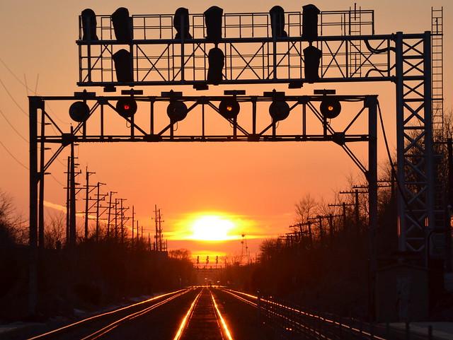 Sunset on the Q