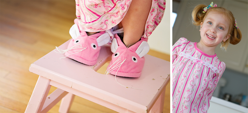 collage slippers, 2