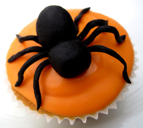 Halloween Spider Cup Cake | by somewhereintheworldtoday
