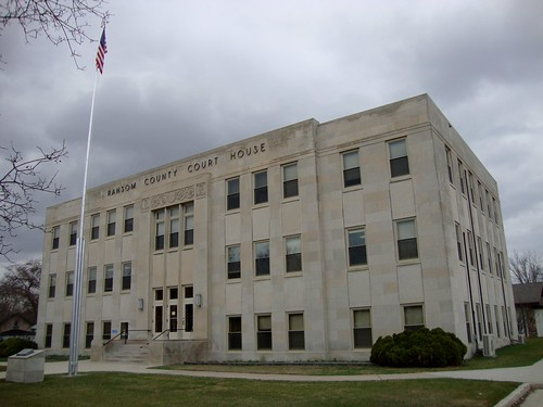 northdakota nd courthouses countycourthouses usccndransom ransomcounty lisbon northamerica unitedstates us