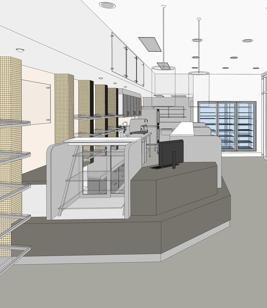 3D view Bakery designs Gladstone  Designs in progress by w