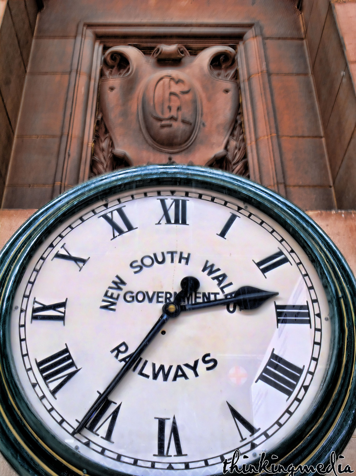 Central Railway Station Clock by Governor Macquarie