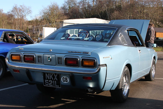 Brooklands Breakfast Meeting Feb 2012 - 1972 Toyota Crown MS75 Coupe (NKX 521L)